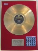 THE BEATLES -24 Carat Gold Disc (Yellow Parlophone Pressing) -A HARD DAY'S NIGHT